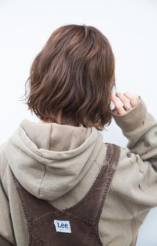 柔らか&ラフ巻き髪